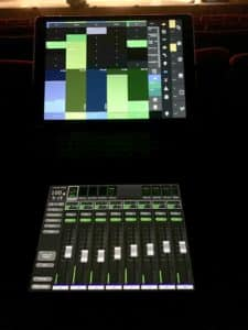 ipad with stagemix